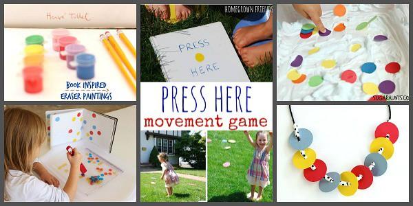 Press Here Activities for Kids