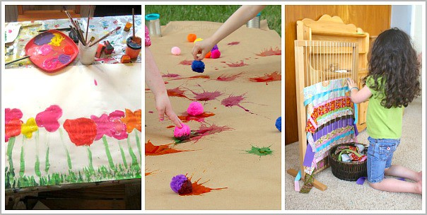 25 Collaborative Art Projects For Kids Buggy And Buddy
