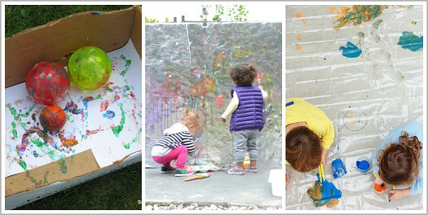 group art projects for kids