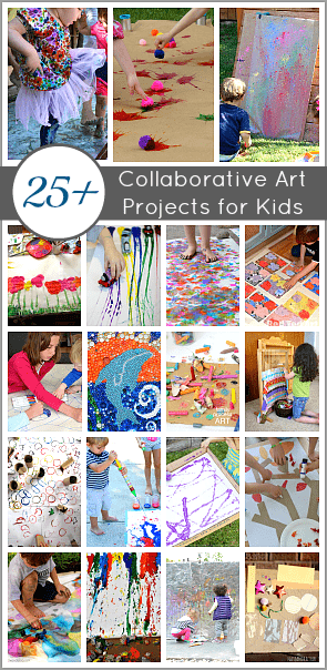 25 Collaborative Art Projects For Kids Perfect The Classroom Playdates And