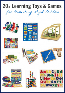 20+ Learning Toys and Games for Kids in the Elementary Grades