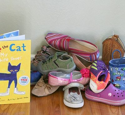 Pete the Cat Sorting Shoes Math Activity