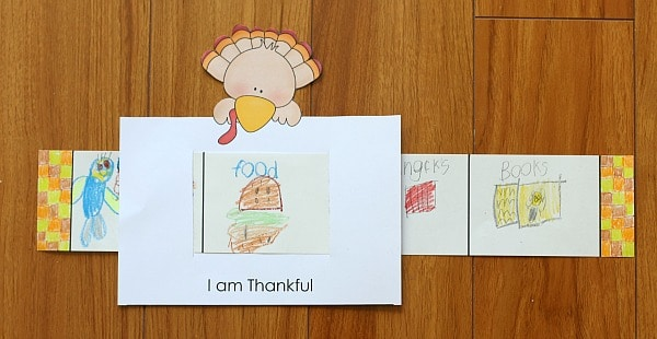 "Thanksgiving Craft for Kids: ""I Am Thankful For"" Story Window"
