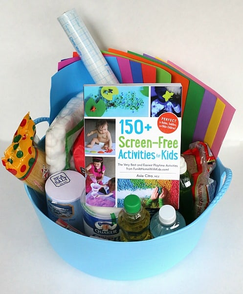 DIY Sensory Gift Basket from Fun at Home with Kids