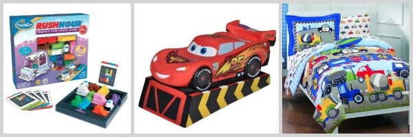 gift ideas for kids who love cars and trucks