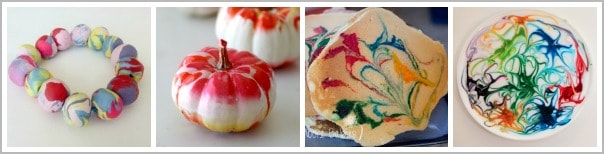 cool marbling projects for kids