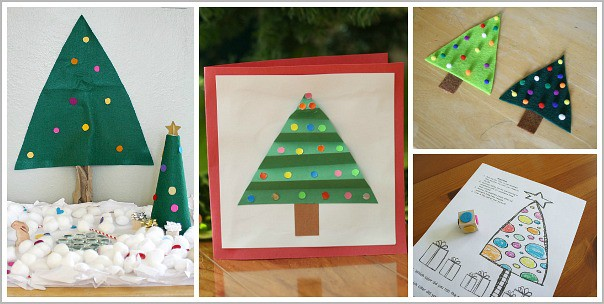 christmas tree crafts and activities