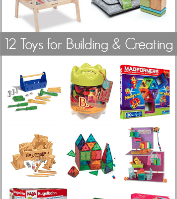 Gift Ideas for Kids: 12 Building Toys
