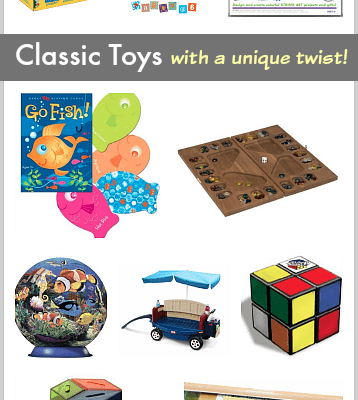 Gift Ideas for Kids: Classic Toys with a Unique Twist