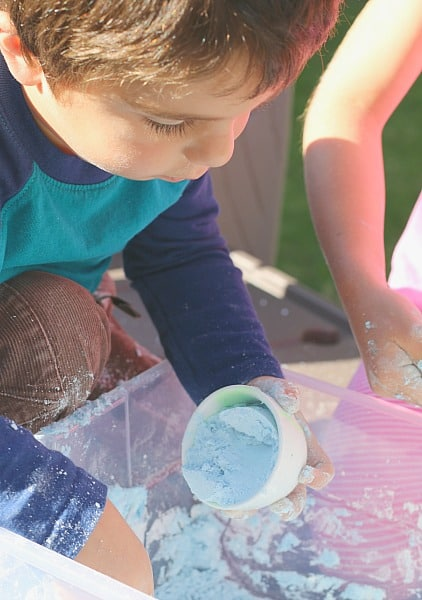Foam Dough from 150+ Screen-Free Activities for Kids