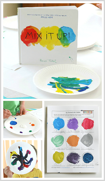 Mixing Colors: Create and Name Your Own Colors - Buggy and Buddy