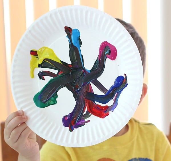 Exploring color mixing with preschoolers