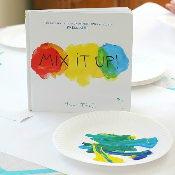 Color Mixing Activity based on the book Mix It Up! by Herve Tullet