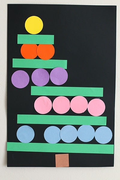 Christmas Tree Craft for Preschooler