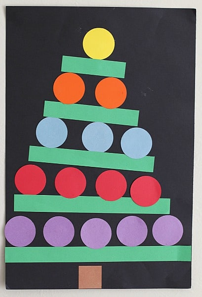 Christmas Tree Craft for First Grade