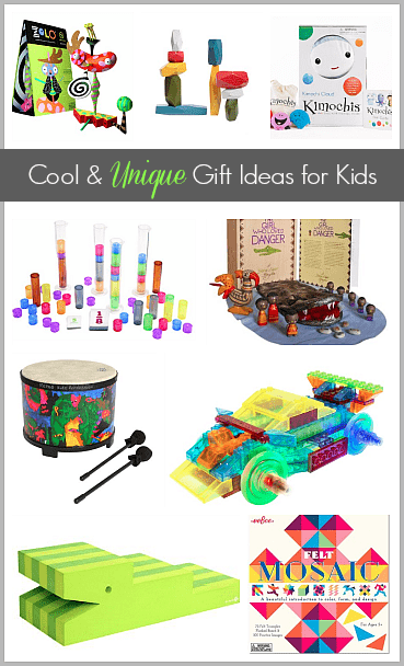 Gift Ideas for Kids: 9 Cool and Unique Toys Kids Will Love~ BuggyandBuddy.com