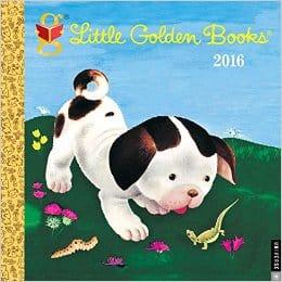 little golden books calendar