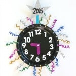 New Year's Eve with Kids: Countdown Clock Craft Using Paper Plates