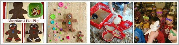 gingerbread man play ideas for kids