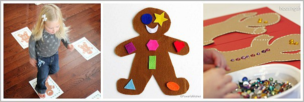 gingerbread man learning activities