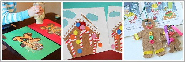 gingerbread man crafts for kids