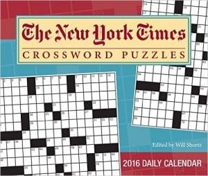 new york times crossword calendar