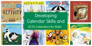 Calendar Skills: Using a Monthly Calendar with Young Children