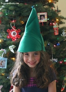 DIY Felt Elf Hat Sewing Project for Kids
