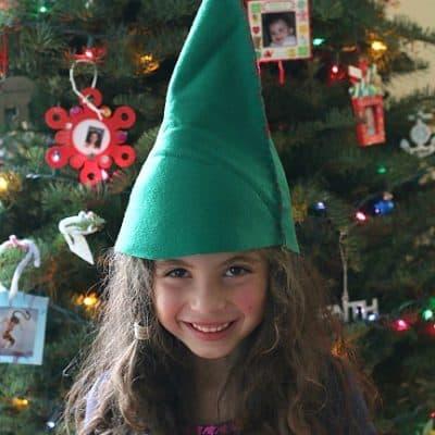 DIY Felt Elf Hat Sewing Project for Kids