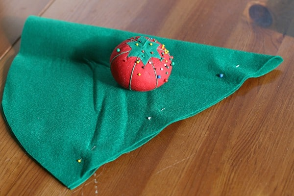 pin your felt elf hat