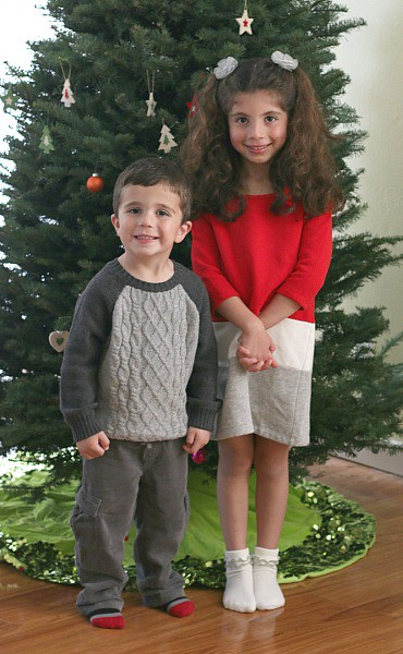 Christmas outfits from Gymboree