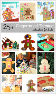 Over 25 Gingerbread Activities for Kids