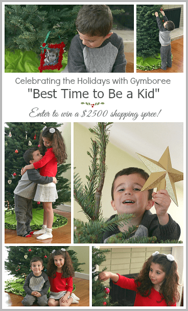 Celebrate the holidays with Gymboree! (And enter to win a $2500 shopping spree!) #sponsored