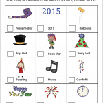 New Year's Eve for Kids: Scavenger Hunt {Free Printable}