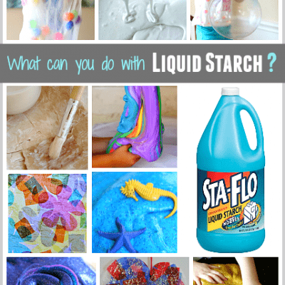 What Can You Do with Liquid Starch?
