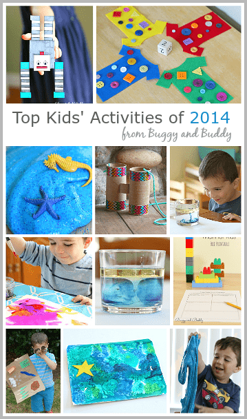 Best Activities for Kids from 2014 on Buggy and Buddy