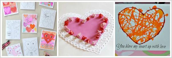 homemade valentines for kids