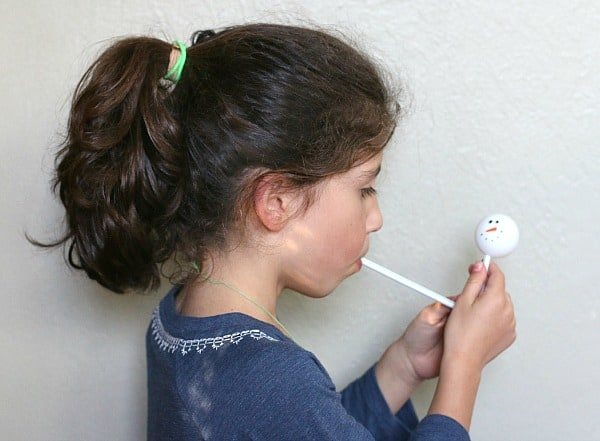 floating ping pong ball science for kids