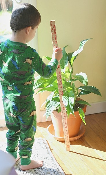 learning measurement with kids