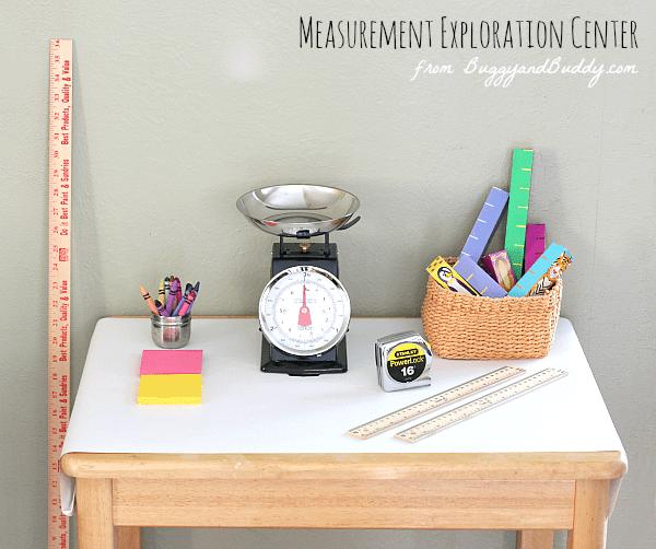 Math Activities for Preschoolers: Measurement Exploration Center ...