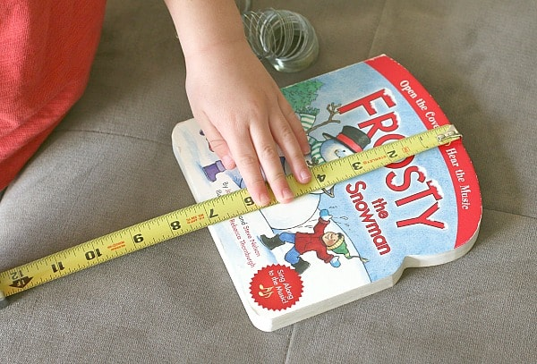 measuring in preschool