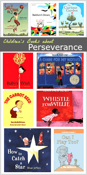 Children's Book List: Stories about Perseverance~ BuggyandBuddy.com