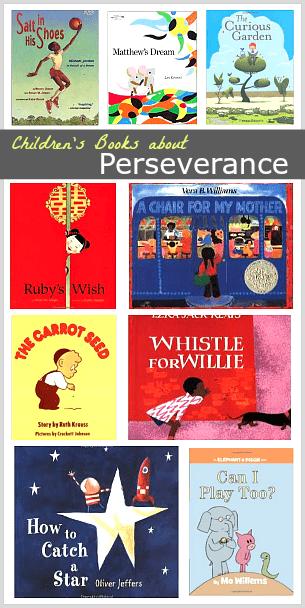 Children's Book List: Stories about Perseverance~ BuggyandBuddy.com