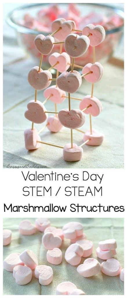 valentine's day STEM activity