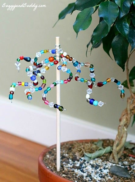 Beaded Garden Ornaments (Inspired by The Artful Year)