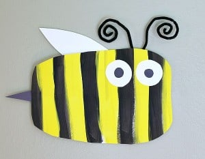 Simple Bumble Bee Art Project for Kids