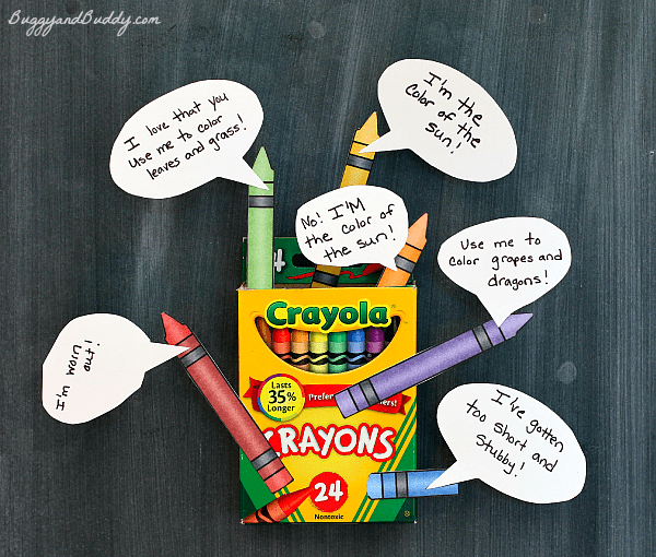 The Day the Crayons Quit Craft and Activity for Kids