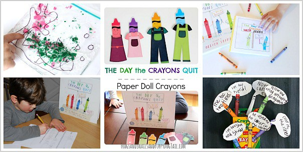 The Day the Crayons Quit Crafts and Activities from the Preschool Book Club