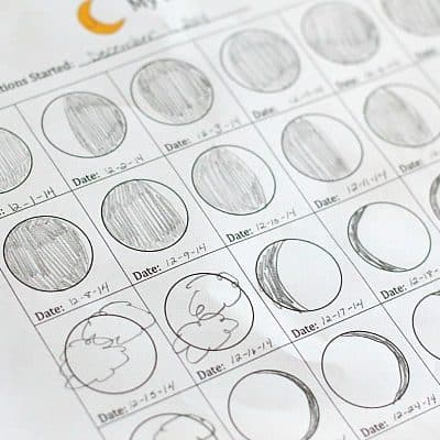 Astronomy for Kids: Moon Journal (Free Printable)