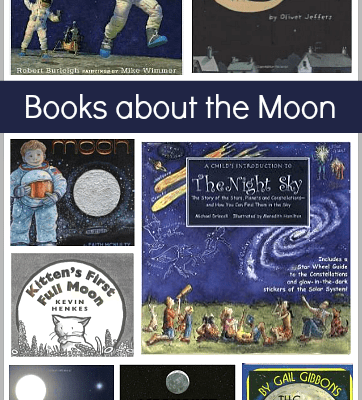 Children's Book List: Picture Books about the Moon
